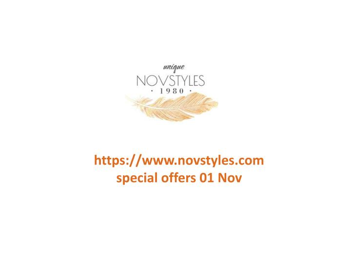 Https://www.novstyles.comspecial offers 01 Nov