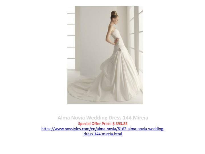 Alma Novia Wedding Dress 144 Mireia