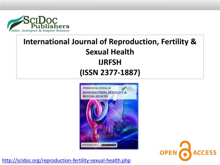 International Journal of Reproduction, Fertility & Sexual Health