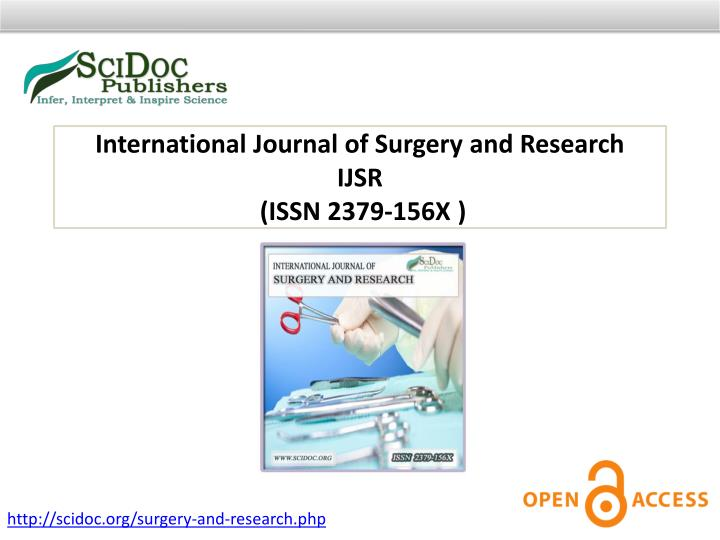 International Journal of Surgery and Research