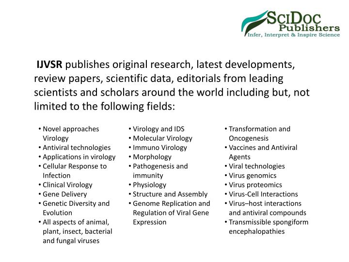 Scientific research and essays issn