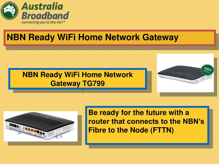 NBN Ready WiFi Home Network Gateway