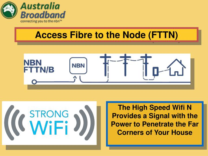 Access Fibre to the Node (FTTN)