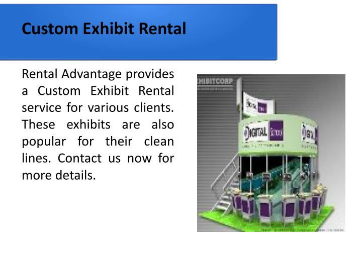 Custom Exhibit Rental