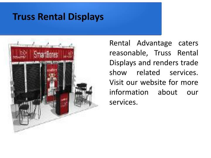 Truss Rental Displays