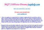mgt 210focus dreams uophelp com18