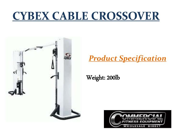 Cybex cable crossover