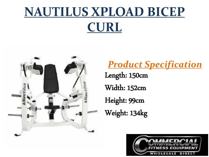 NAUTILUS XPLOAD BICEP CURL