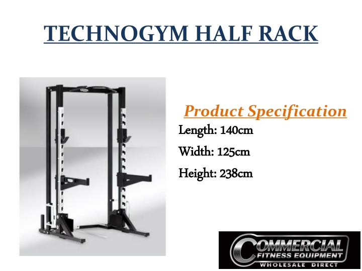 TECHNOGYM HALF RACK