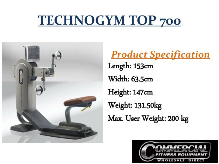 TECHNOGYM TOP 700