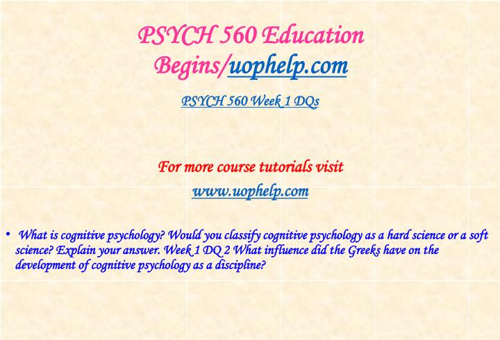 Psych 560 education begins uophelp com2