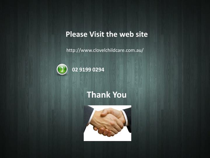 Please Visit the web site