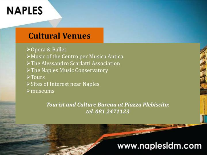 Cultural Venues