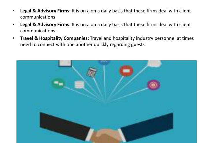 Legal & Advisory Firms: