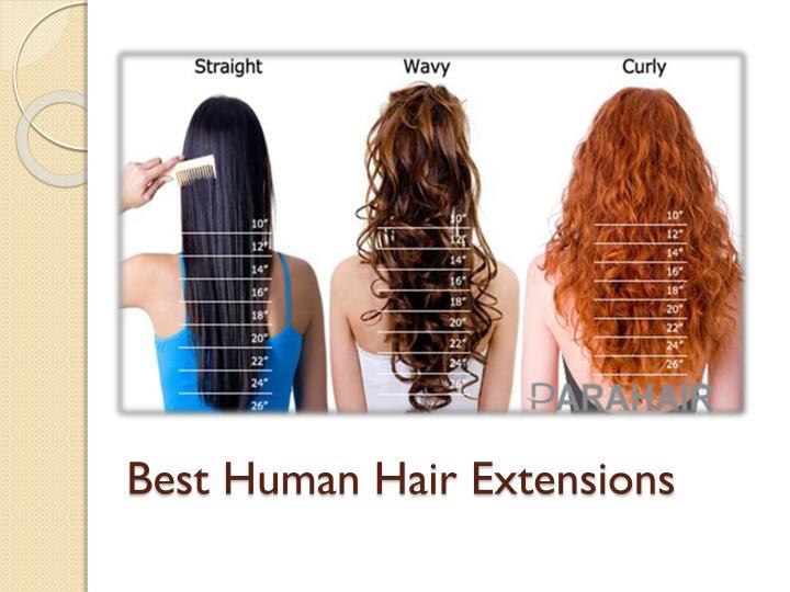 Best Human Hair Extensions