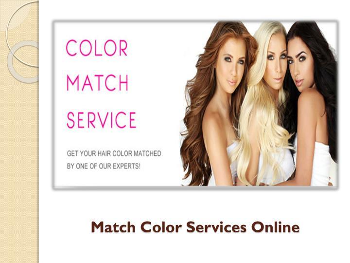 Match Color Services Online