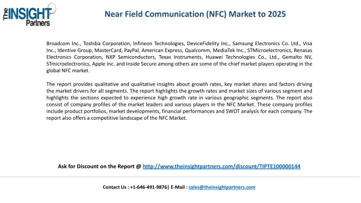 Near Field Communication (NFC) Market to 2025