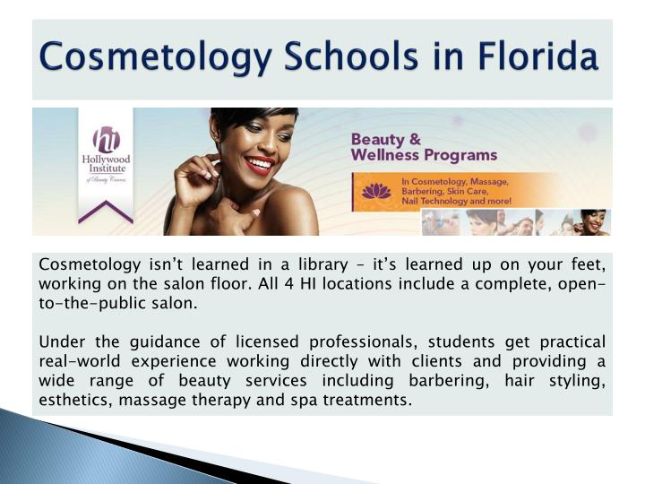 Cosmetology Schools in Florida