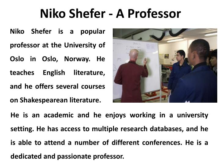 Niko Shefer