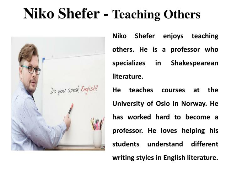 Niko Shefer -