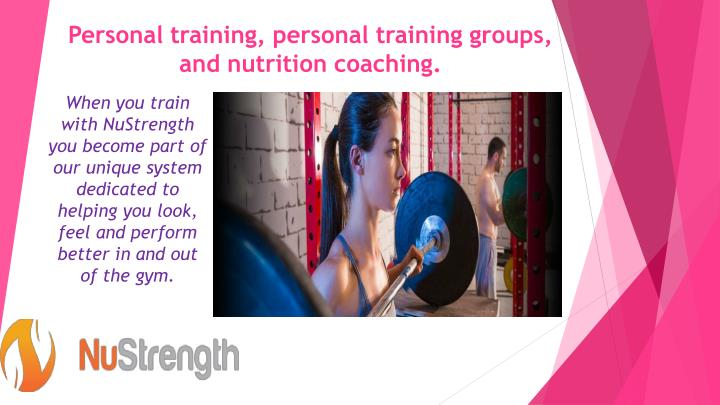 personal training personal training groups and nutrition coaching