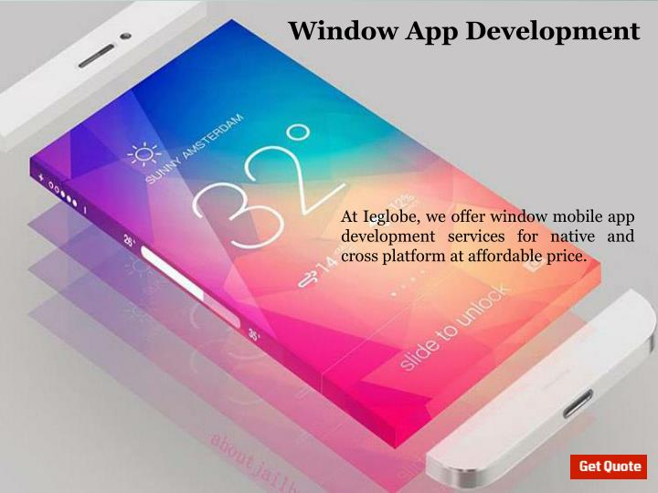 Window App Development
