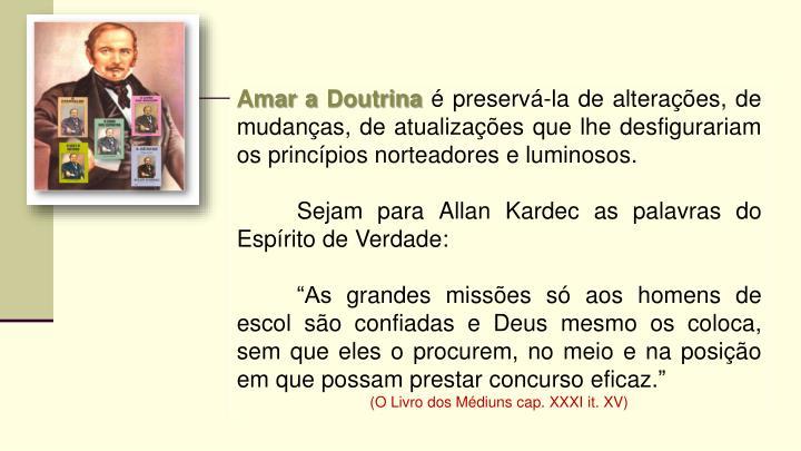 Amar a Doutrina