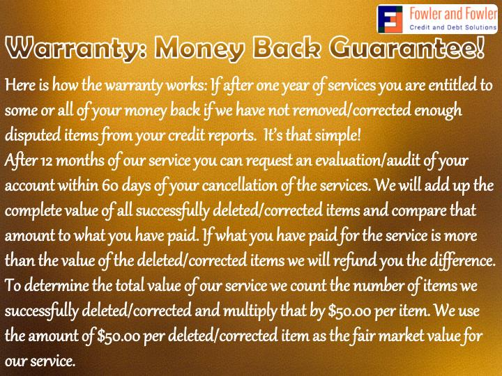 Warranty: Money Back Guarantee!