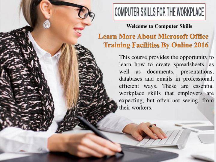 Welcome to Computer Skills