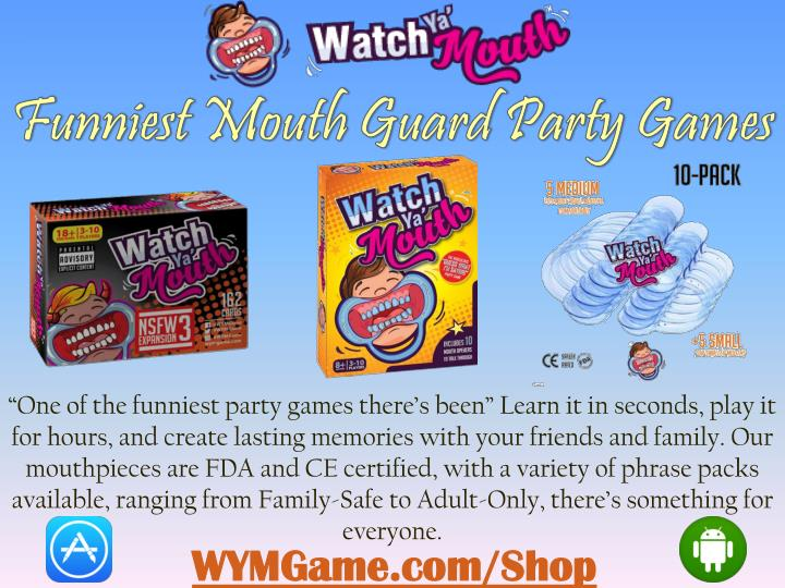 """One of the funniest party games there's been"" Learn it in seconds, play it"