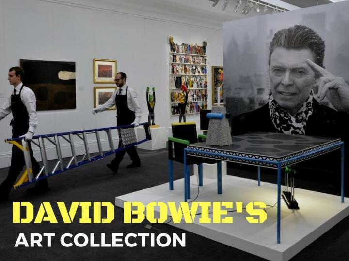 David bowie s craft collection