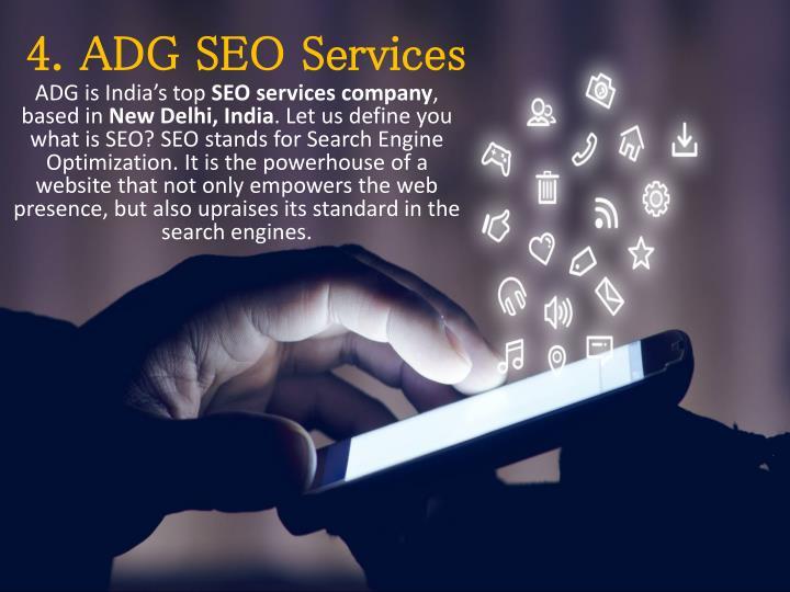 4. ADG SEO Services