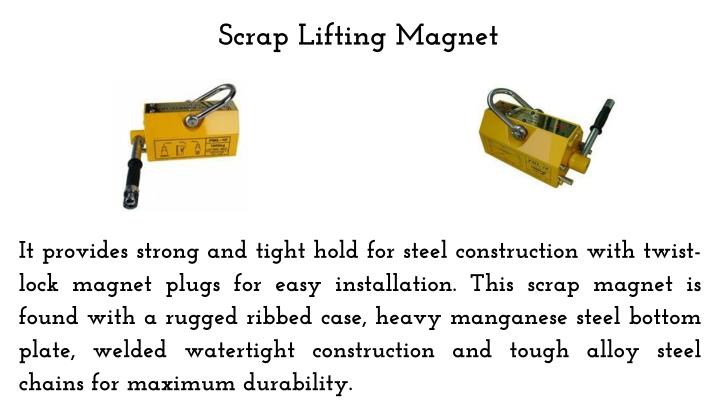 Scrap Lifting Magnet