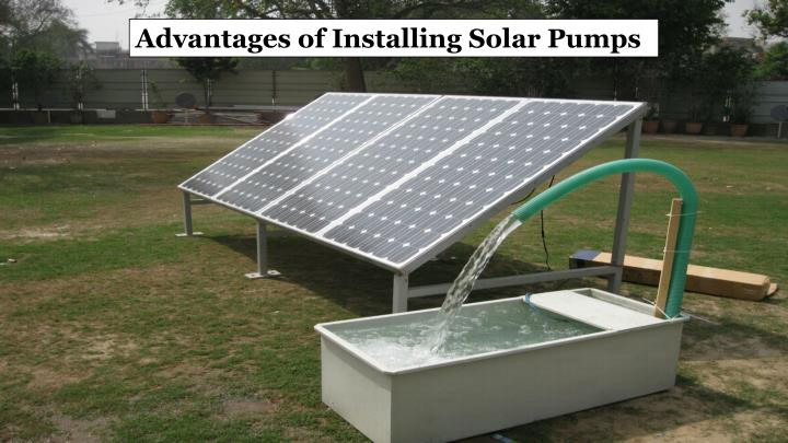 Advantages of Installing Solar