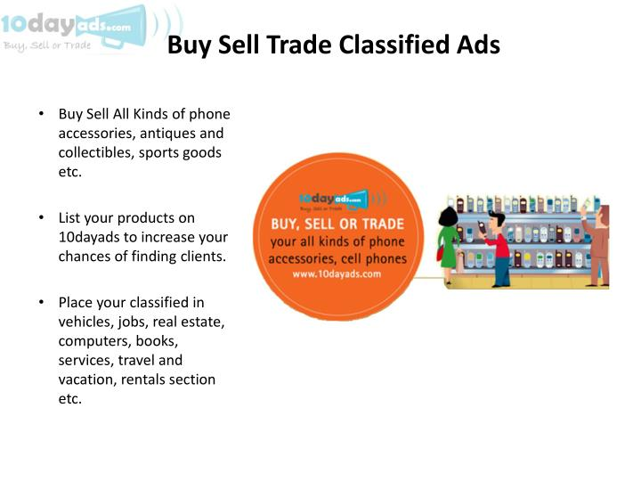 Buy Sell Trade Classified Ads