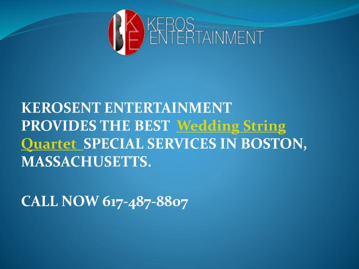 KEROSENT ENTERTAINMENT