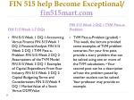 fin 515 help become exceptional fin515mart com8