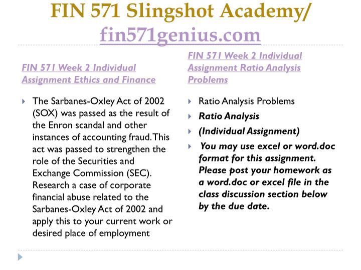 FIN 571