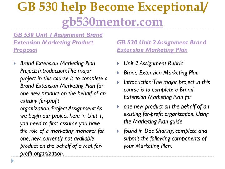 Gb 530 help become exceptional gb530mentor com1