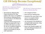 gb 530 help become exceptional gb530mentor com1