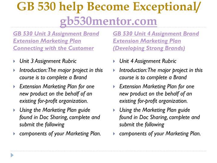 Gb 530 help become exceptional gb530mentor com2