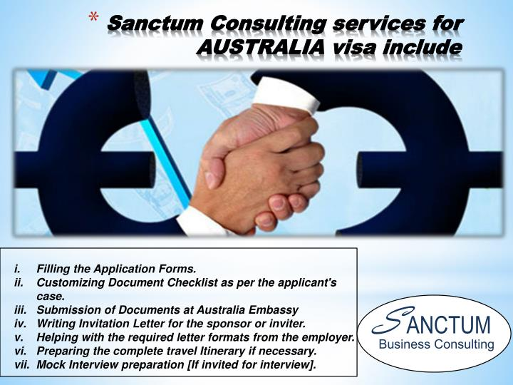 Sanctum Consulting services for