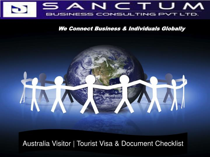 We Connect Business & Individuals Globally