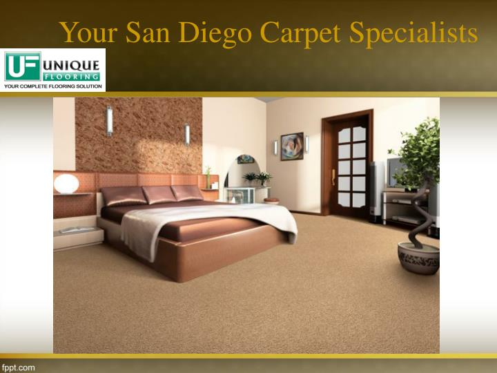 Your San Diego Carpet Specialists