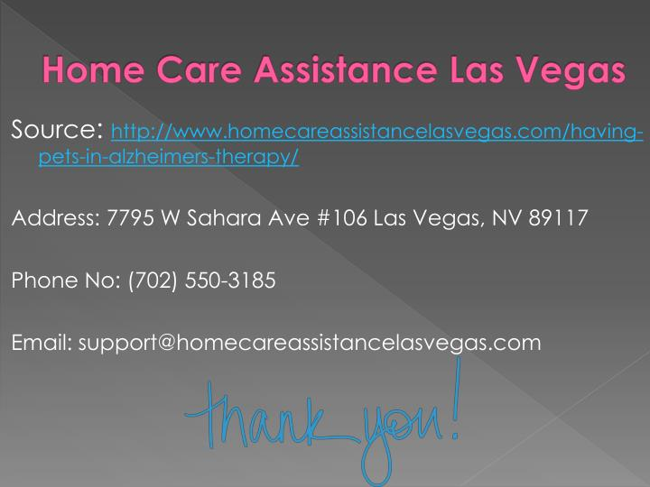 Home Care Assistance Las Vegas