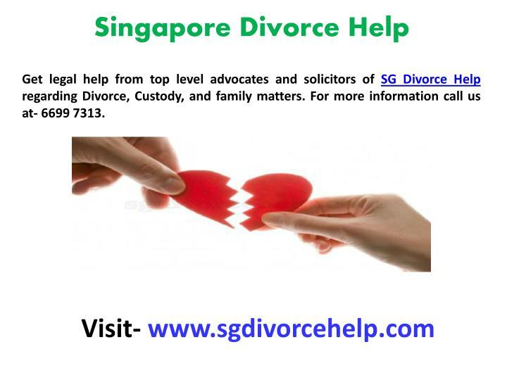 Singapore Divorce Help