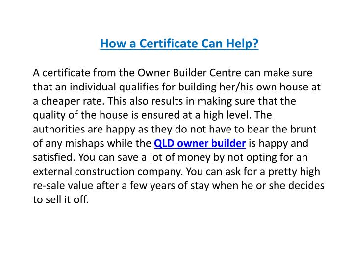 How a Certificate