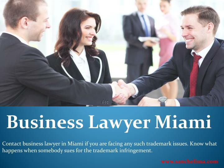 Business Lawyer Miami
