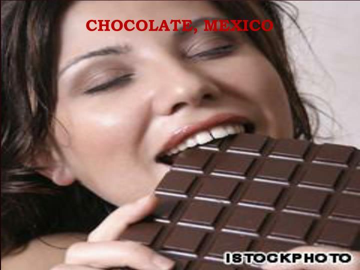 Chocolate, Mexico