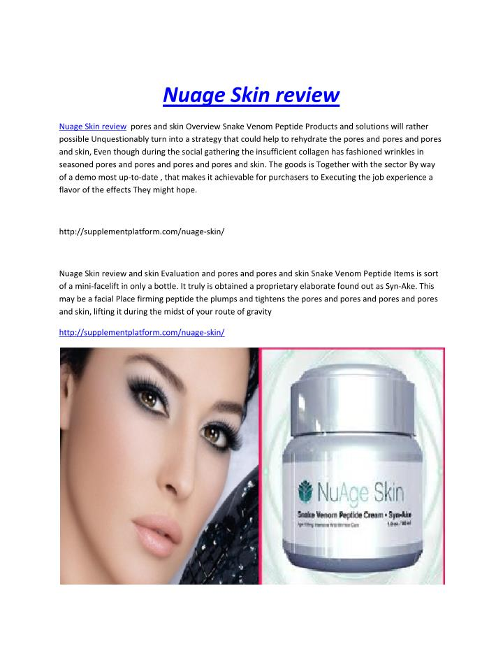 Nuage Skin review